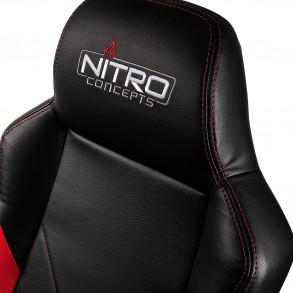 Fauteuil Nitro Concepts C100 (Noir/Rouge)