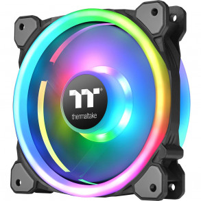 Ventilateur boîtier Thermaltake Riing Trio 12 LED RGB Radiator Fan TT Premium Edition (3-Fan Pack)