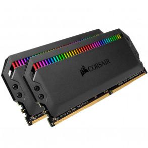 Mémoire PC Corsair DOMINATOR PLATINUM RGB 32Go (2 x 16 Go) DDR4 3200MHz C16