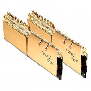Mémoire PC G.Skill Trident Z Royal GOLD RGB 2x16Go DDR4 3000 PC24000