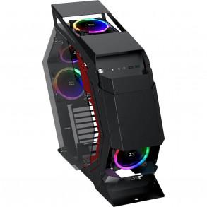 Boitier Moyen Tour ATX Xigmatek Perseus RGB avec panneaux vitrés (Noir)