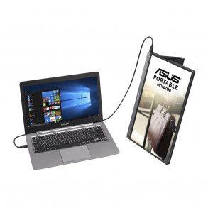 """Ecran portable tactile 16"""" Asus ZenScreen Touch MB16ACM Full HD (Gris)"""