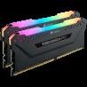 Mémoire PC Corsair Vengeance RGB Pro 32Go 2x16Go DDR4 3000Mhz C16