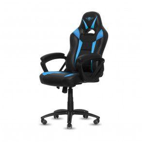 Fauteuil Spirit of Gamer Fighter (Noir/Bleu)