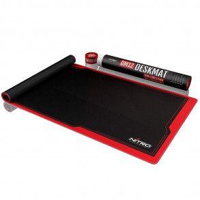 Tapis de souris Nitro Concepts Deskmat DM12 Noir/rouge - 120x60cm