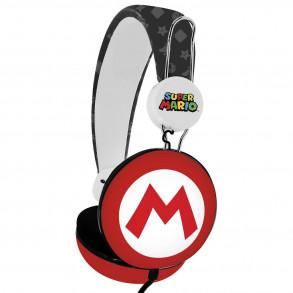 Casque Super Mario logo